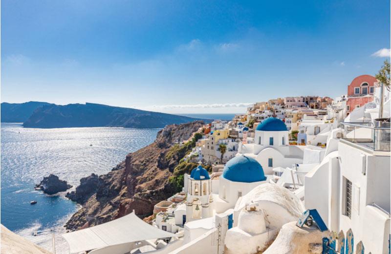 Santorini - Cycladen Eilanden
