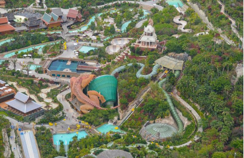 Siam waterpark op Tenerife