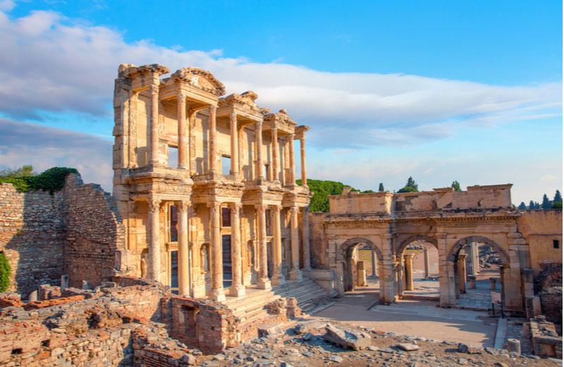 Efeze Ephesus in Turkije