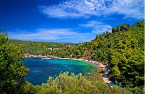 Stafylos strand op Skopelos