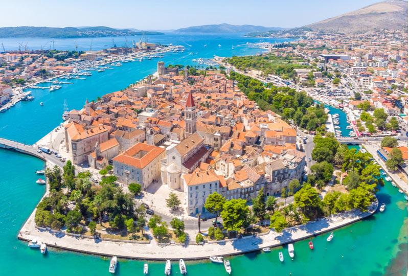 Stedentrip naar Trogir in Kroatië