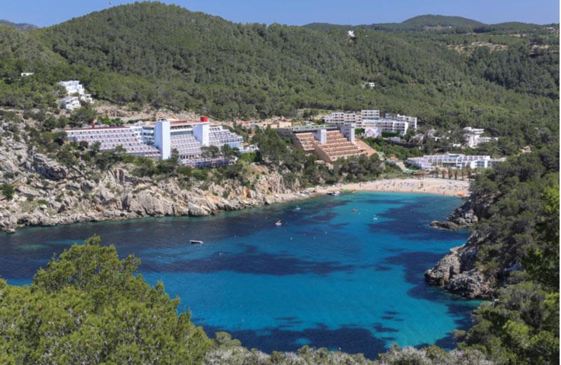 Strand van Sant Miquel de Balansat