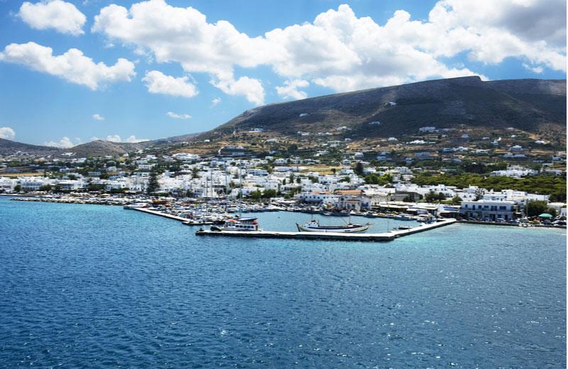 Paros van de Cycladen eilanden