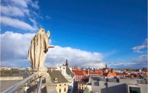 Uitzicht vanaf de Mathematical Tower in Wroclaw