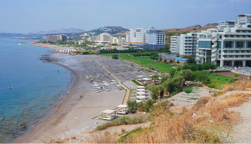 Vakantie Ixia Rhodos