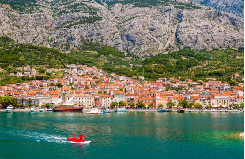Vakantie naar Makarska Kroatië