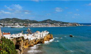 Wijk Sa Penya in Ibiza-stad