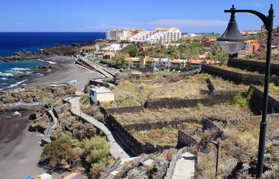 Badplaats Los Cancajos op La Palma