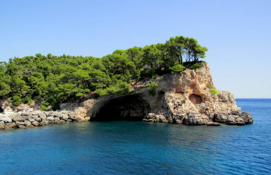 Blue Cave nationale Marine Park