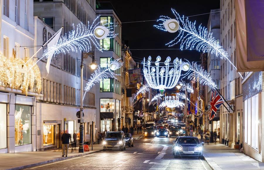 Bond street in Londen