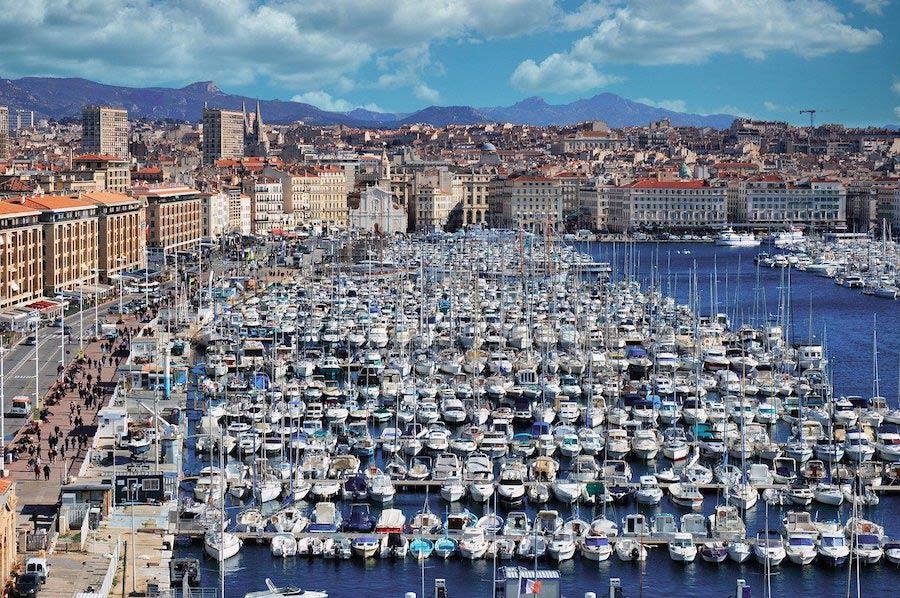 Haven Vieux-Port van Marseille