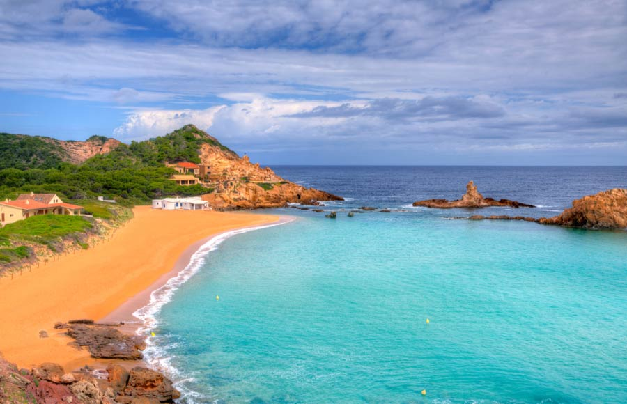 Het strand Cala Pregonda