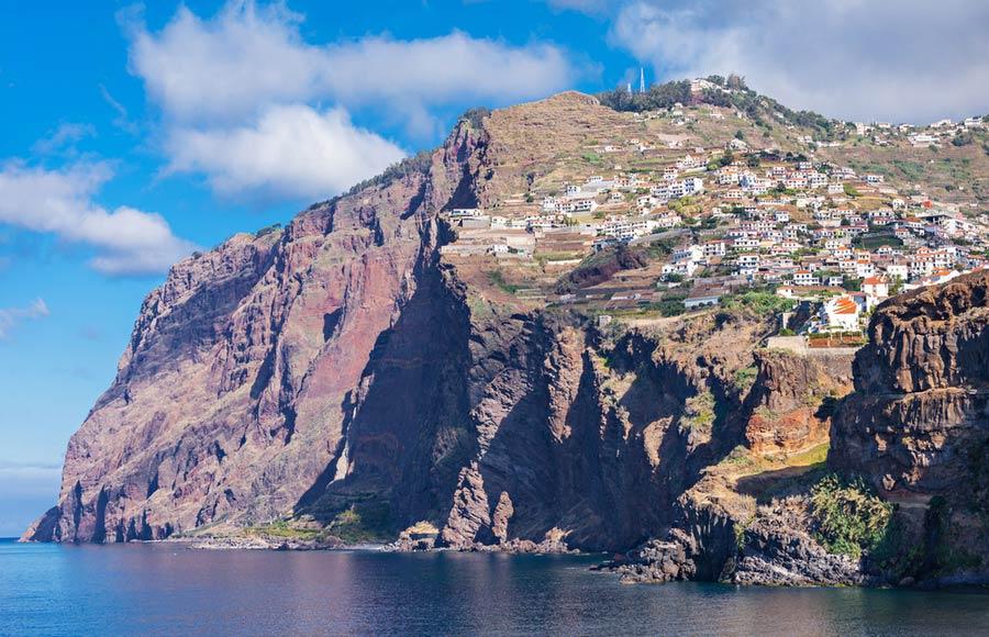 De Cabo Girão klif aan de zuidkust