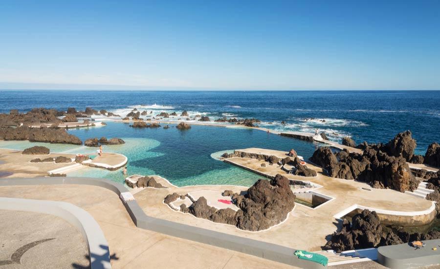 Natuurlijke zwembaden Porto Moniz