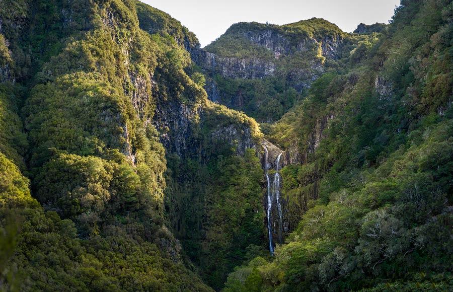 De Risco waterval in Rabacal