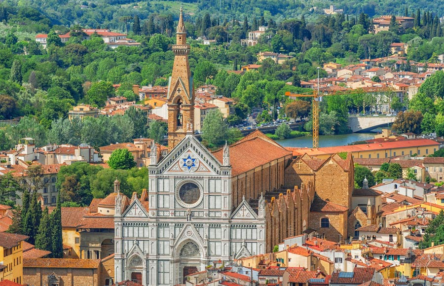 De Santa Croce in Florence