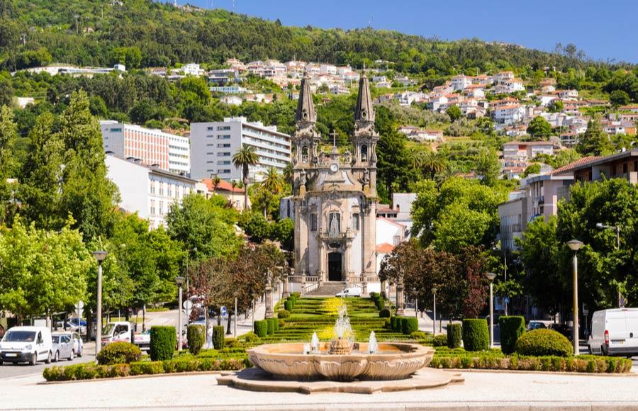 De stad Guimaraes