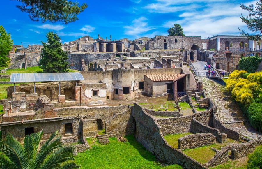 De stad Pompeï