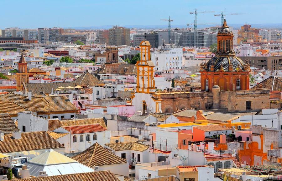 Santa Cruz in Sevilla