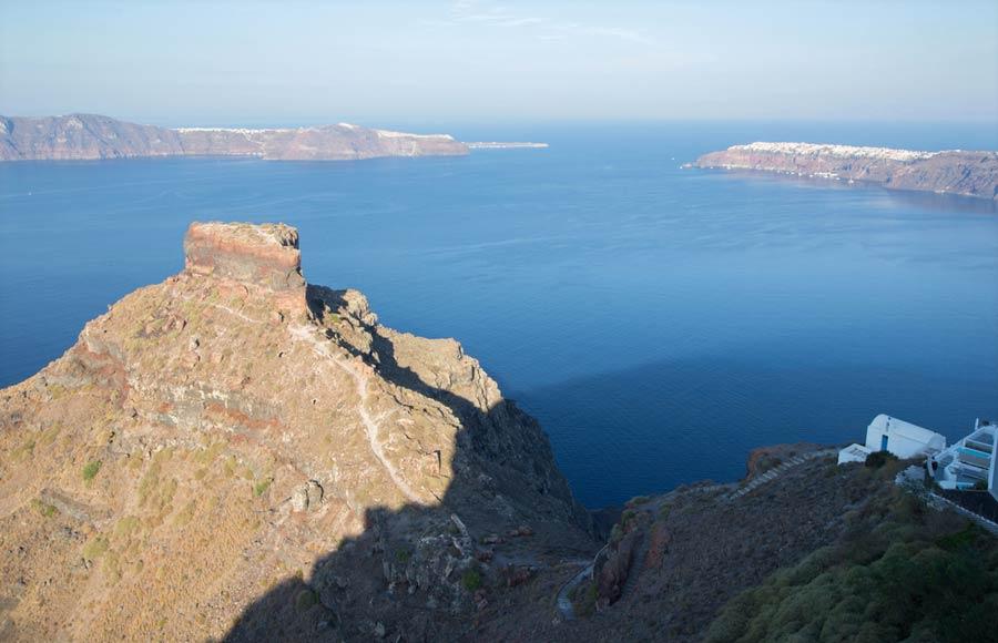 Fort Skaros op Santorini