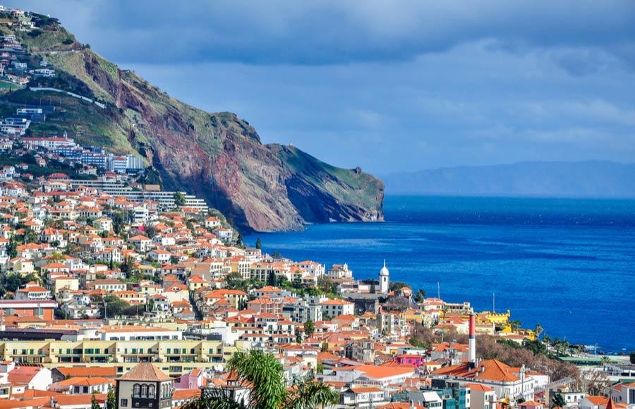 Funchal op Madeira