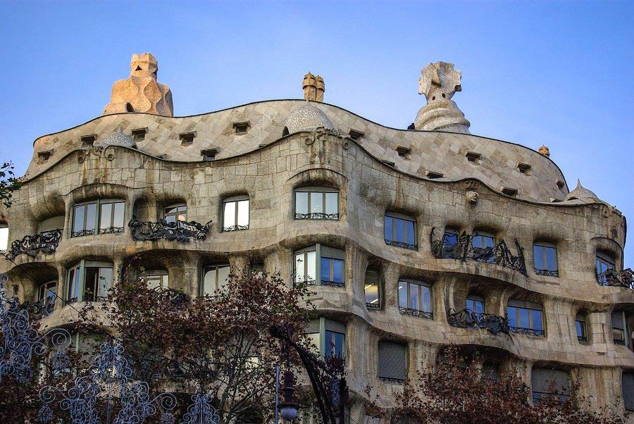 Gebouw Casa Mila van Gaudi