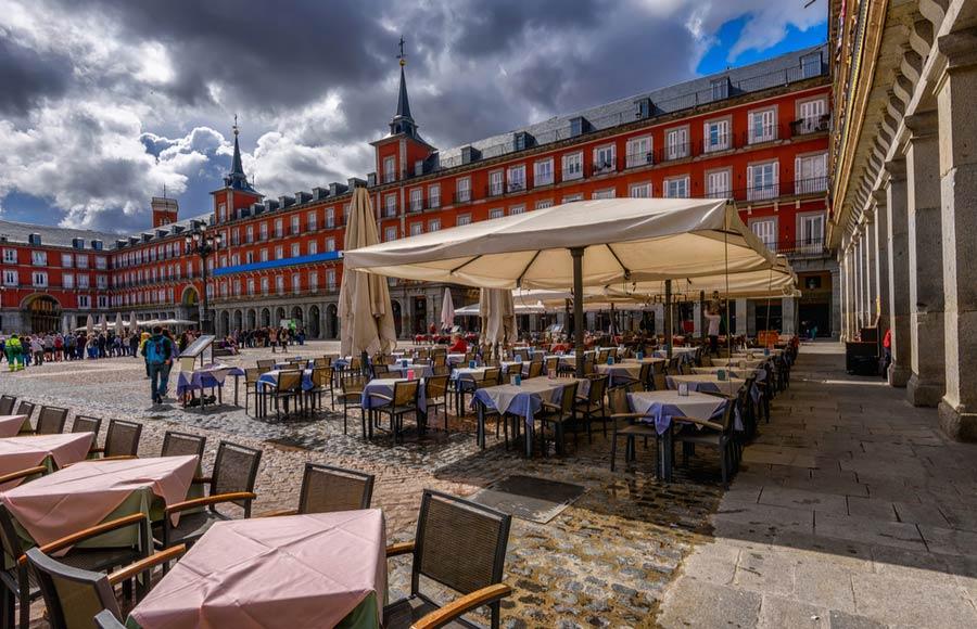 Plaza Mayor plein in Madrid
