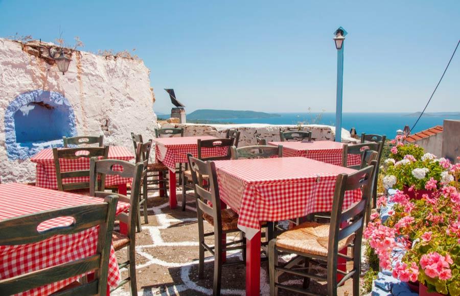 Traditioneel restaurant Alonissos