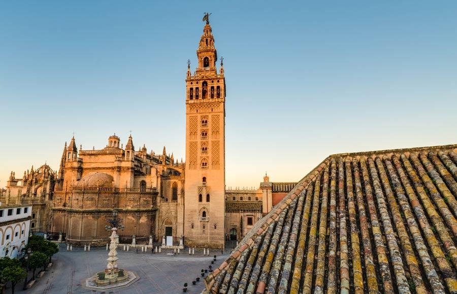 Giralda klokkentoren in Sevilla