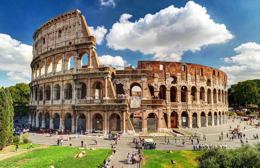 Het Colosseum - Rome