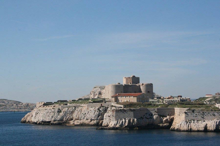 Het fort Château d'If in Marseille