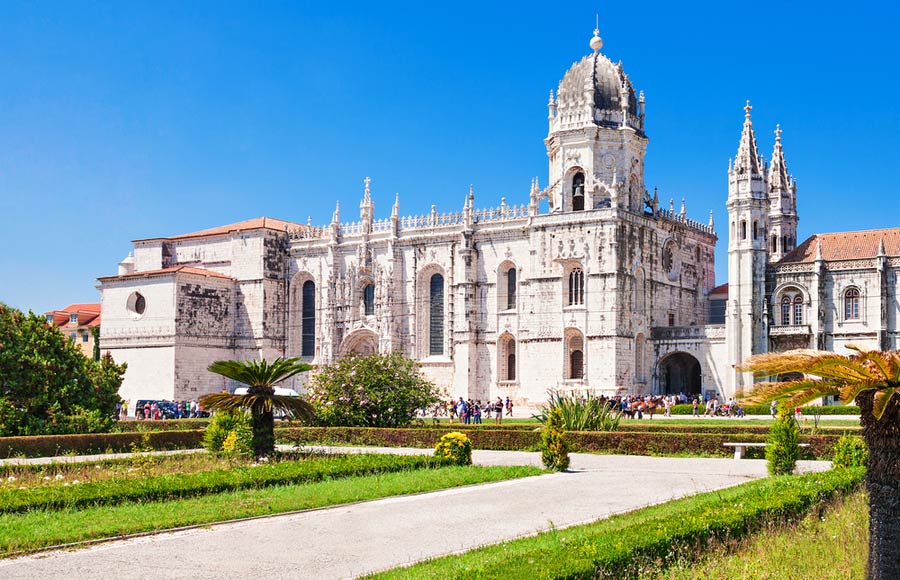 Jerónimos klooster in Lissabon