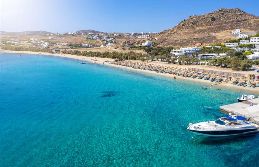 Kalafatis beach - Mykonos