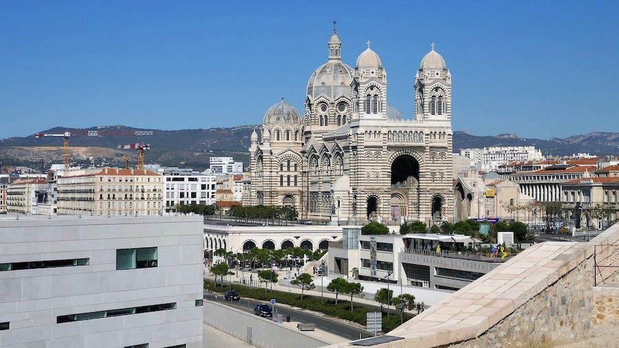 Kathedraal de la Major in Marseille
