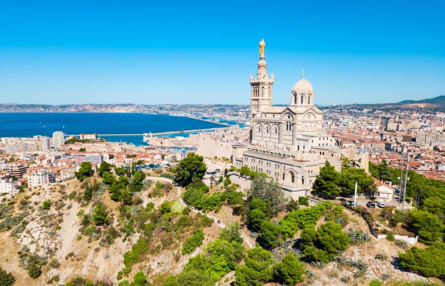 Kathedraal Marseille Notre-Dame La Garde