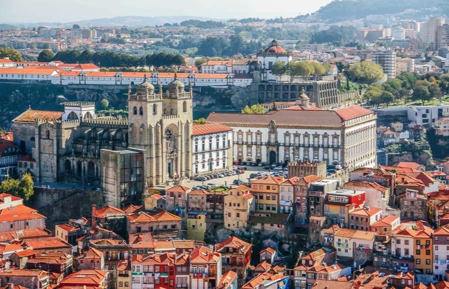 Kathedraal Sé in Porto
