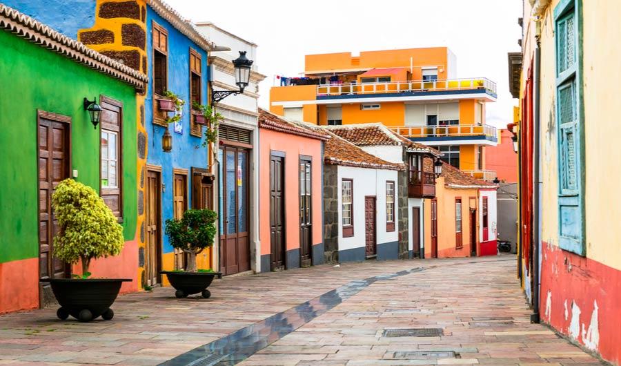 Straat in Los Llanos de Aridane
