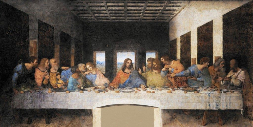 Leonardo da Vinci het laatste avondmaal