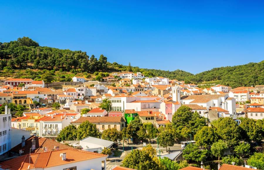 Monchique aan de Algarve