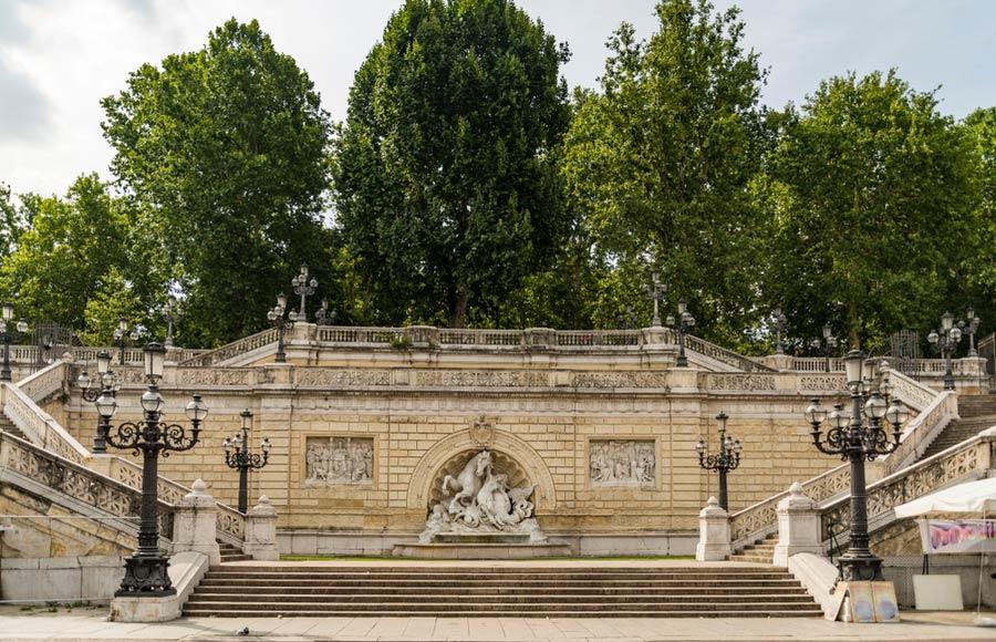 Montagnola park in Bologna