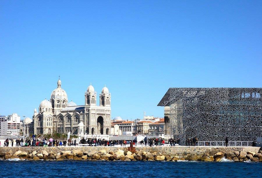Museum Mucem en kathedraal La Major