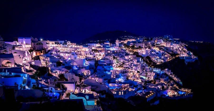 Nachtleven en uitgaan op Santorini