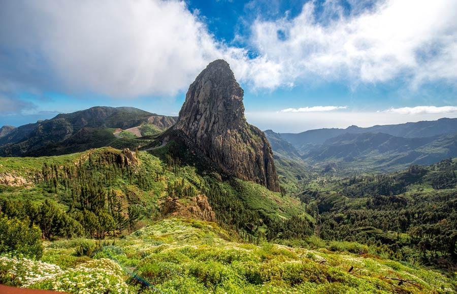 Parque National de Garajonay op La Gomera