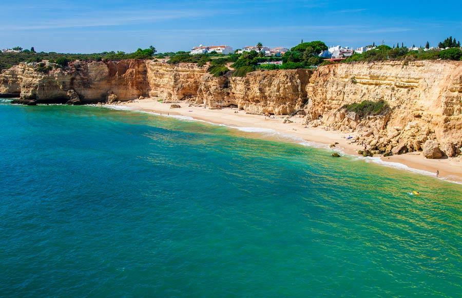 Praia da Rocha strand - Algarve