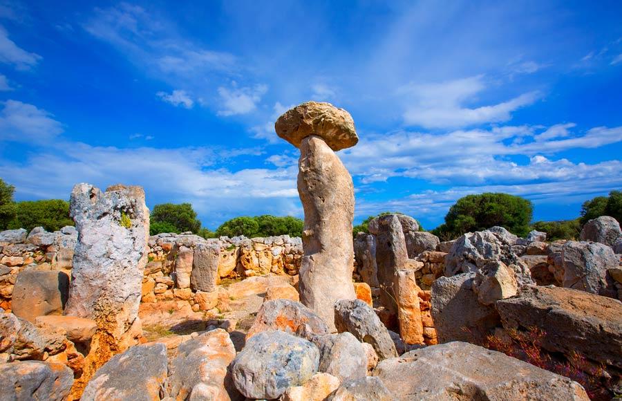 Prehistorische dorp Torre d'en Galmés - Menorca