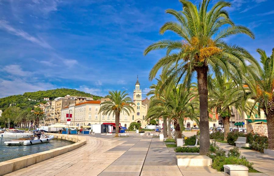 Promenade van Split