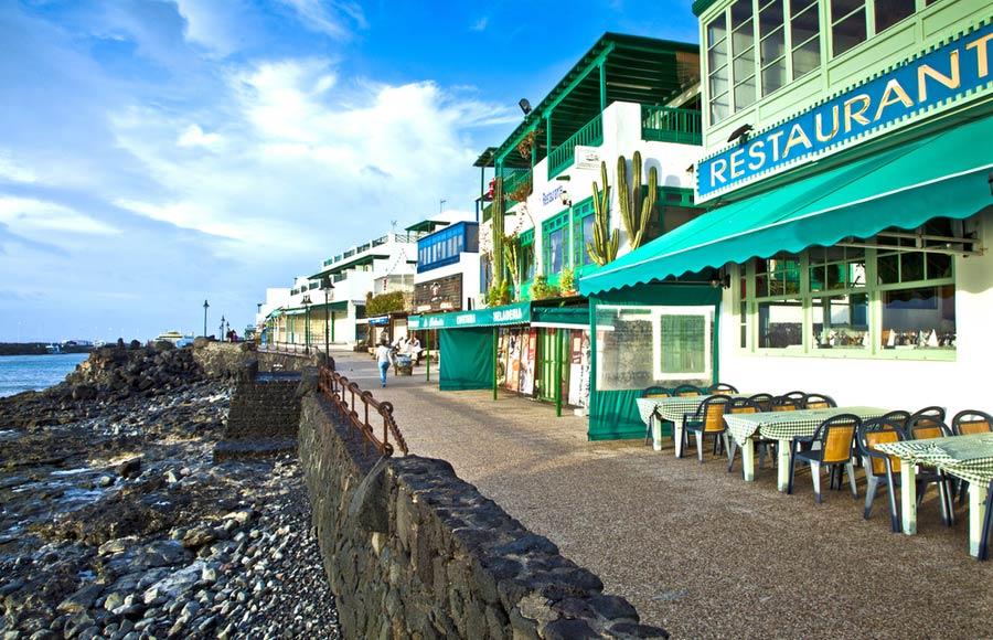 Promenade wandelboulevard Playa Blanca