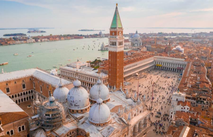 San Marco plein en basiliek