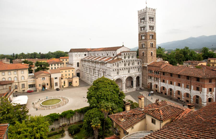 San Martino kathedraal in Lucca