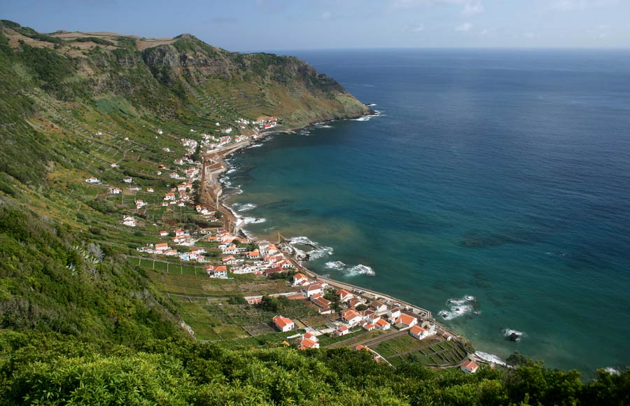 Santa Maria eiland van de Azoren